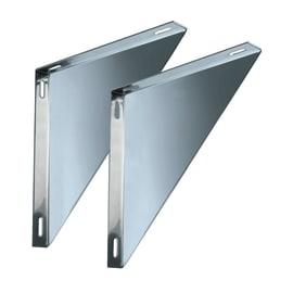 Staffa Coppie supporti per piastre mono parete DN 180 L 280 x H 30 mm Ø Dn 180 Mono parete mm