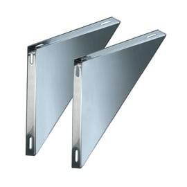 Staffa Coppie supporti per piastre mono parete DN 200 L 300 x H 30 mm Ø Dn 200 Mono parete mm