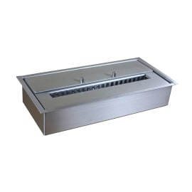 Biobruciatore per pavimento 1.5 L grigio / argento