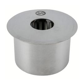 Biobruciatore per pavimento ricambio rotondo 1.5 L grigio / argento