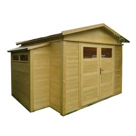 Casetta da giardino in legno Sirkka 2 12.92 m² spessore 28 mm