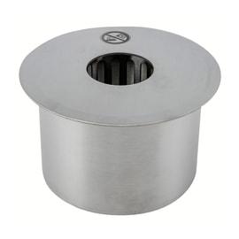 Biobruciatore per pavimento ricambio rotondo 2 L grigio / argento