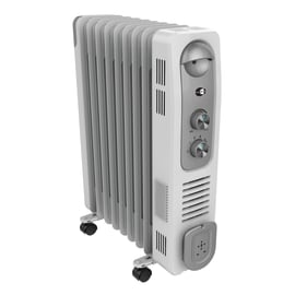 Radiatore elettrico EQUATION bianco 2400 W