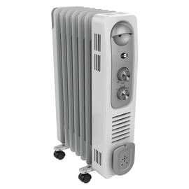 Radiatore ad olio EQUATION bianco 1500.0 W