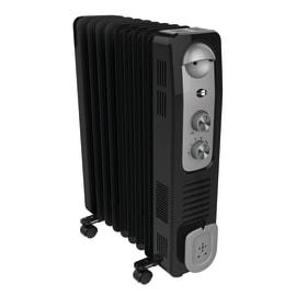 Radiatore ad olio EQUATION nero 2400 W