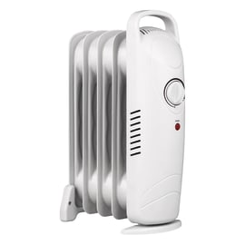 Radiatore ad olio EQUATION Mini Easy Handle bianco 500 W