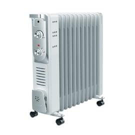 Radiatore ad olio EQUATION 11 elementi Olea bianco 2500 W