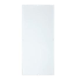 Plafoniera Brixen bianco, in vetro, 56x25.8 cm, E27 2xMAX40W IP20