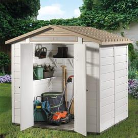 Casetta da giardino in pvc Tuscany Evo 200 3.13 m² spessore 20 mm
