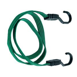 Set di cavi elastici con ganci in plastica 2 pz. L 18 mm, 2 pezzi