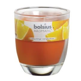 Candela profumata BOLSIUS essenza agrumi  Ø 7 cm H 8 cm