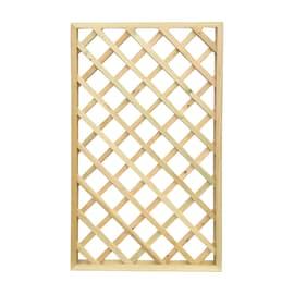 Pannello reticolato in legno Diago 120 x 180 cm