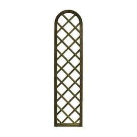 Pannello reticolato in legno Diago 45 x 180 cm