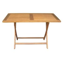 Tavolo da pranzo per giardino rettangolare FTA con piano in legno L 70 x P 120 cm