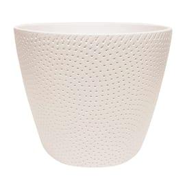 Portavaso Ion ALMAS S.A. in ceramica H 11.5 cm, Ø 15 cm