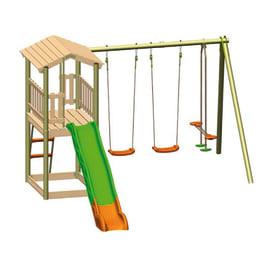 Set di giochi in legno Yellowstone 358 x 448 x 250 cm