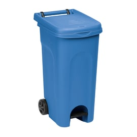Bidone in plastica STEFANPLAST carrellato Urban Eco System 80 L 2 ruote