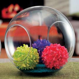 Vaso in vetro L 29.5 x H 26 cm Ø 29.5 cm