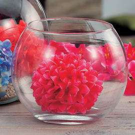 Vaso in vetro Ø 20 cm