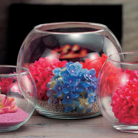 Vaso in vetro Ø 25 cm