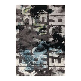 Tappeto Metropolitan NYC grigio scuro 190x133 cm