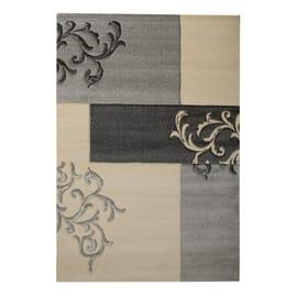 Tappeto Opera patch grigio 200x300 cm