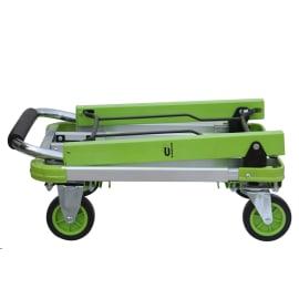 Carrello piattaforma STANDERS Pieghevole con pianale allungabile portata 150 kg