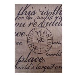 Tappeto Cottage poesia beige e nero 160x230 cm