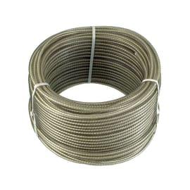 Corda stendibiancheria zincato e fibra tessile  in acciaio Ø 3.2 mm x 20 m