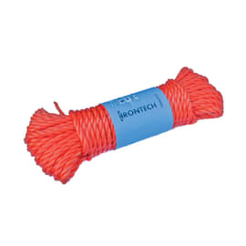 Fune in polipropilene galleggiante L 20 m x Ø 7 mm arancio / ramato