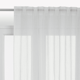 Tenda INSPIRE Lolita bianco nastro tenda con anse nascoste 300.0x280.0 cm