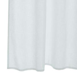 Tenda Khios bianco occhielli 140x280 cm