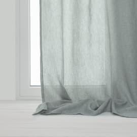 Tenda Khios grigio occhielli 140x280 cm