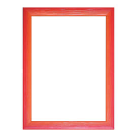 Cornice INSPIRE BICOLOR rosso / arancione per foto da 25X35 cm