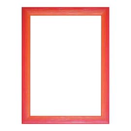 Cornice INSPIRE BICOLOR rosso / arancione per foto da 21X29,7 cm