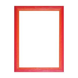 Cornice INSPIRE BICOLOR rosso / arancione per foto da 30X30 cm