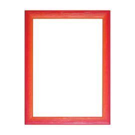 Cornice INSPIRE BICOLOR rosso / arancione per foto da 30X90 cm