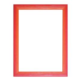 Cornice INSPIRE BICOLOR rosso / arancione per foto da 35X50 cm