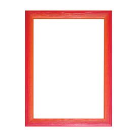 Cornice INSPIRE BICOLOR rosso / arancione per foto da 40X50 cm