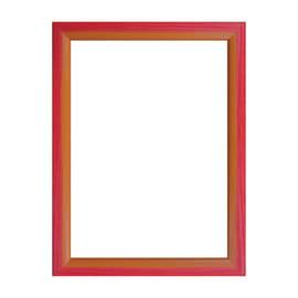 Cornice INSPIRE BICOLOR rosso / arancione per foto da 40x60 cm