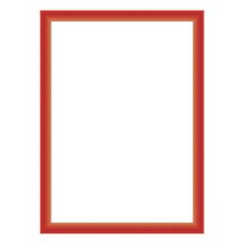 Cornice INSPIRE BICOLOR rosso / arancione per foto da 50X70 cm