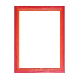 Cornice INSPIRE BICOLOR rosso / arancione per foto da 60X80 cm