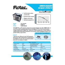 Pompa di evacuazione acque scure FLOTEC S.O.S. Flood kit 650 W 11500  l/h