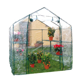 Serra da giardino Optima Maxy 8 ripianiL 200 x H 215 x P 200 cm