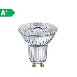 Lampadina LED GU10 riflettore bianco naturale 3W = 230LM (equiv 35W) 36° OSRAM