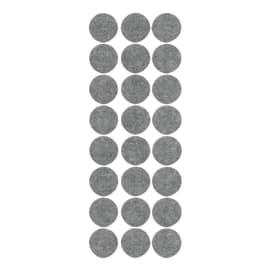 Feltrini e sottopiedi 24 pezzi Ø 28 mm