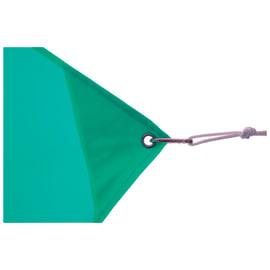 Vela ombreggiante rettangolare azzurro 300 x 400 cm