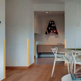 Furniture child protection Bianco 1 m in plastica / pvc Sp 15 mm