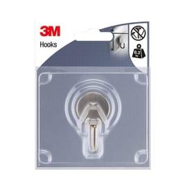 Appendiabiti 3M IHOM42 in acciaio argento