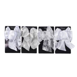 Ornamento appeso bianco Ø 15 cmL 11 x H 15 cm